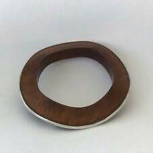 Silpada wavy wooden bracelet